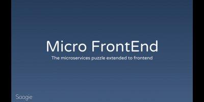 Retour du BreizhCamp : Micro front-end